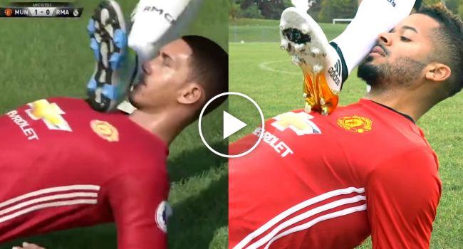 Alguns Exemplos Caricatos Dos Erros No Jogo FIFA Reproduzidos Na Vida Real