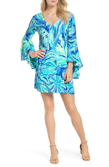 cfccaca9eda1a8 Buy online discount Lilly Pulitzer® Rosalia Bell Sleeve Shift Dress ...