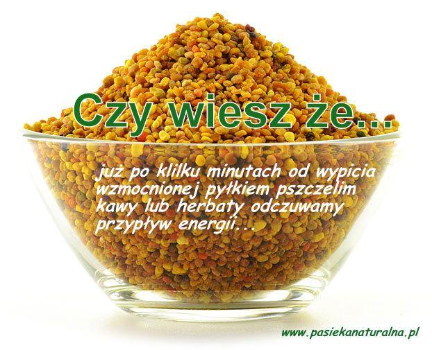 Już po kilku minutach od wypicia wzmocnionej pyłkiem kawy lub herbaty odczuwamy przypływ energii. Pyłek pszczeli Warszawa; więcej informacji poniżej ......