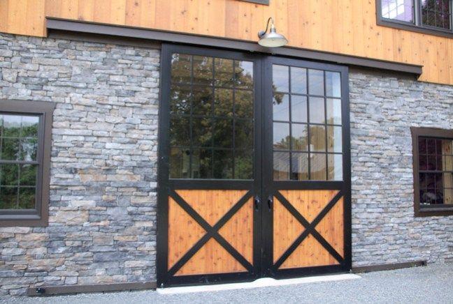 Rock Cliff Farm - wooden bank barn
