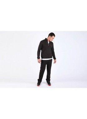 QuarterLife Clothing Half Zip Pullover Black. Buy @ http://thehubmarketplace.com/Half-Zip-Pullover-Black