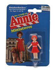 Vintage 1982 The World Of Little Orphan Annie Knickerbocker Miniatures Figurine