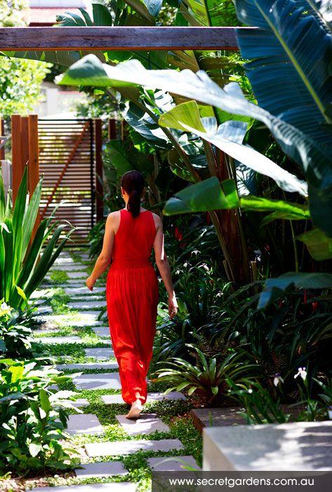 Amazing landscape designers Australia - Tropical plantings