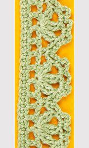 Crochet edging :: Crochet edgings :: Pattern samples :: Crocheting :: RukoDelie.by :: RukoDelie.by