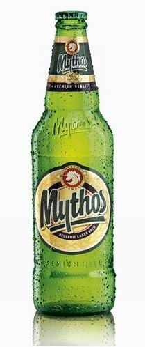 Mythos beer - one of the very best designed beers out there in my opinion.