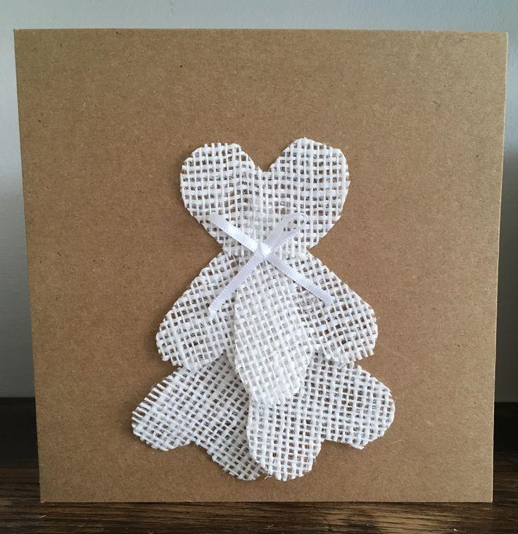 Wedding dress card, unique wedding card  http://etsy.me/2n9dFX0