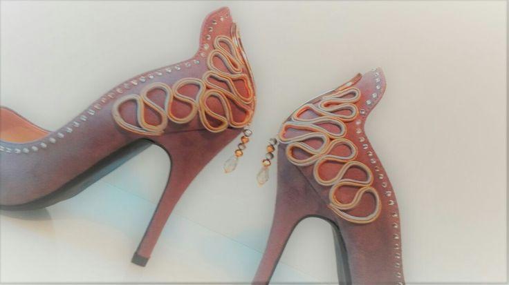 shoes buty schuhe pumps crystals kryształy kristalle soutache sutasz сутаж sutazh sanctpetersburg sanktpetersburg stpetersburg