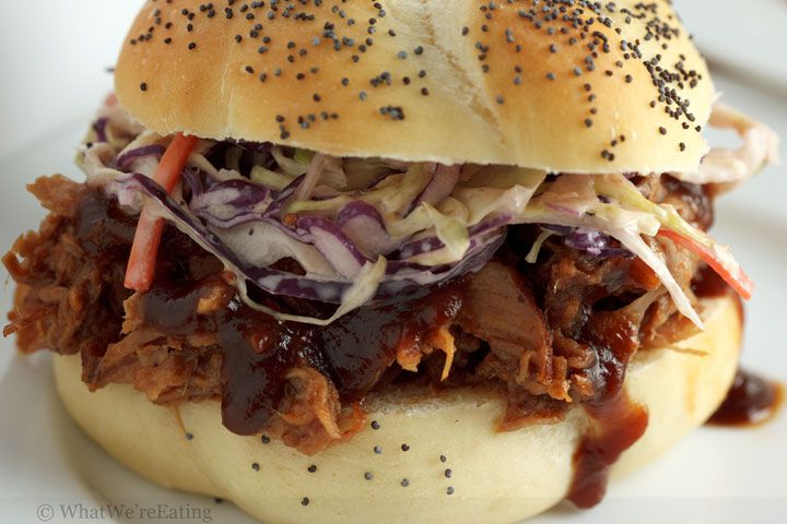 Low & Slow Oven-Roasted Pulled Pork...looks like the wait would be ...