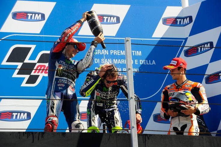 Lorenzo, Rossi, Pedrosa, San Marino MotoGP Race 2014