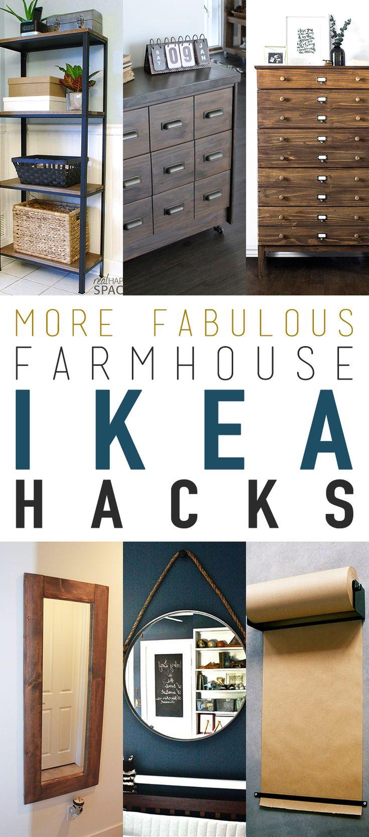 More Fabulous Farmhouse IKEA Hacks!