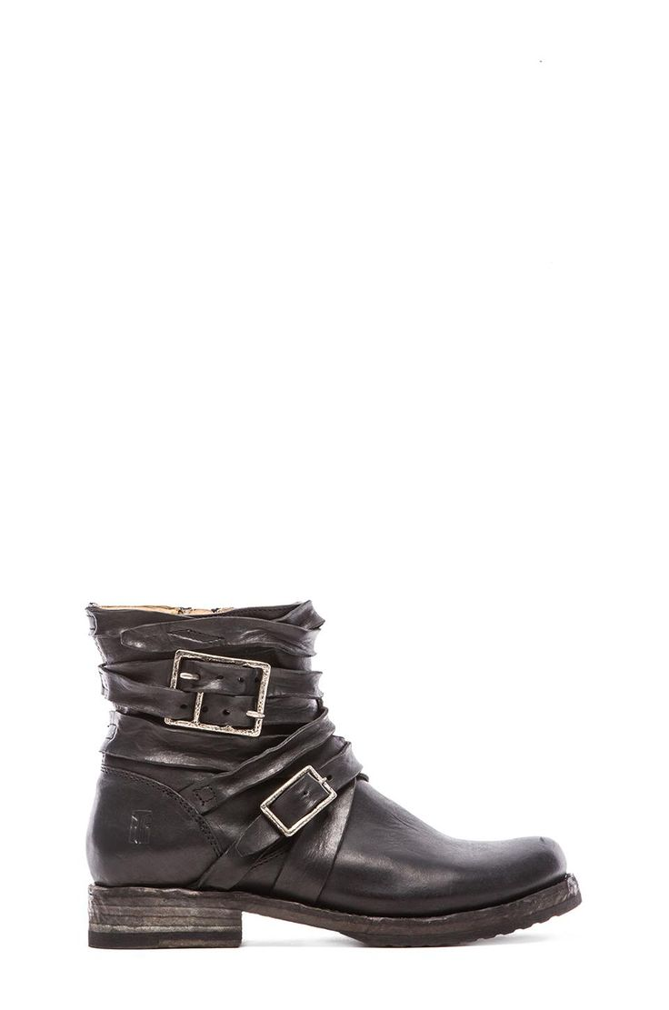 Frye Veronica Strappy Boot in Black