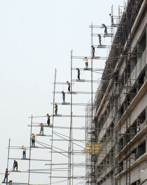 beautifull scaffolding