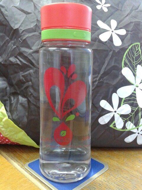 My equa bottle...