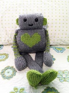 Hand Knit Robot
