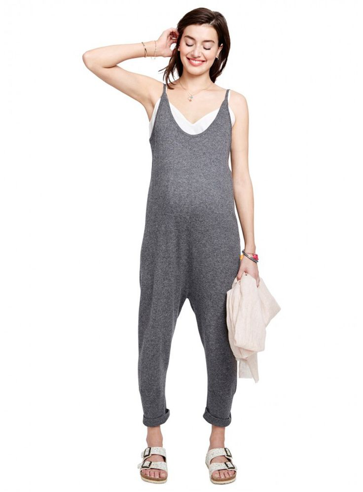 Project Nursery - Cashmere Maternity Jumpsuit from HATCH Collection