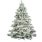 Found it at Wayfair - Flocked Alaskan 6.5' White Pine Artificial Christmas Tree