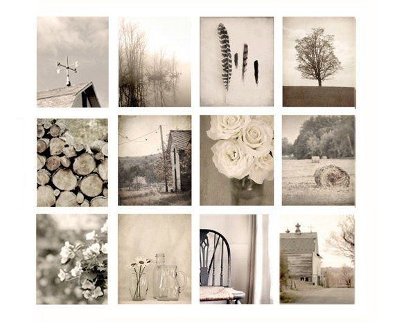 Wall Art Photo Set Or 12 Prints Farmhouse Photography Rustic Etsy Photo Wall Art Country House Decor Country Decor Rustic