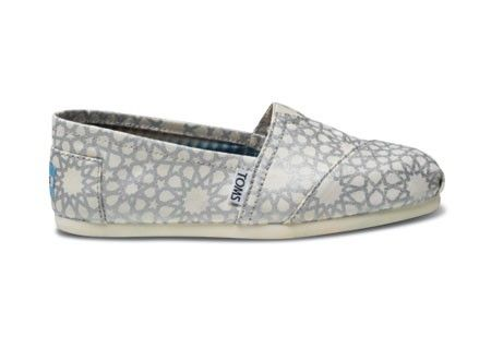 TOMS + Islamic ornaments! could it be any better?