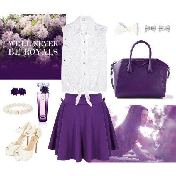 """Purple Rose"" by bogyoemo on Polyvore"