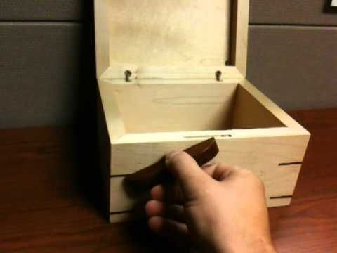 Secret Locks and Compartments, Woodworking Magic Tricks - The Wood Whisperer