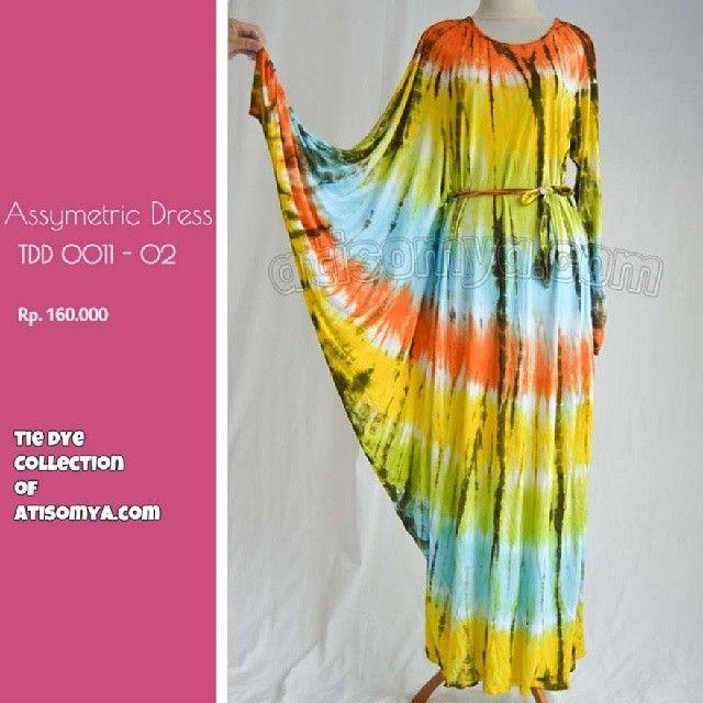 Baju Pelangi Best Seller 2013. Tie Dye Collection http://atisomya.com. Asymetric dress Material rayon jersey Allsize fit to xl Length : 138c...