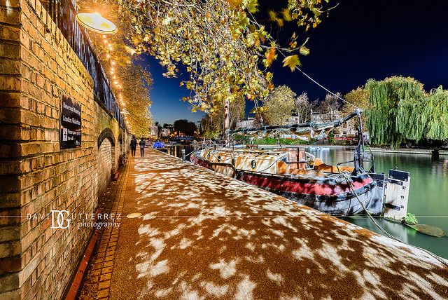 """""""Charm On Demand"""" Little Venice, London, UK. Image by David Gutierrez Photography, London Photographer. London photographer specialising in architectural, real estate, property and interior photography. http://www.davidgutierrez.co.uk #realestate #property #commercial #architecture #London #Photography #Photographer #Art #UK #City #Urban #Beautiful #Interior #Arts #Cityscape #Travel #Building #Night #Twilight #Street #LittleVenice"""