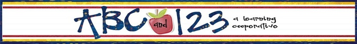 Great blog for K and 1st teaching ideas....math, reading, etc.