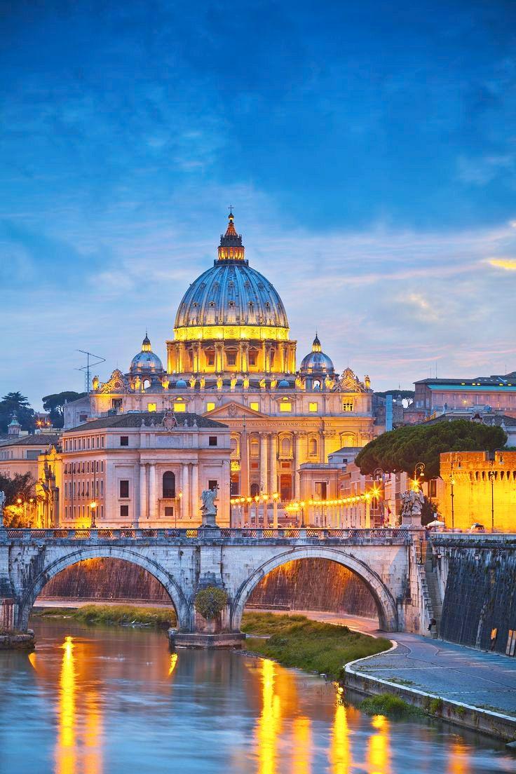   #Roma   Basilica di San Pietro in Vaticano    www.volamondo.it