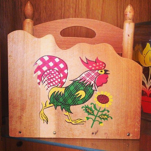 #rooster #napkin #holder,