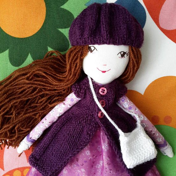 Check out this item in my Etsy shop https://www.etsy.com/listing/581944641/handmade-cloth-doll-handmade-fabric-doll