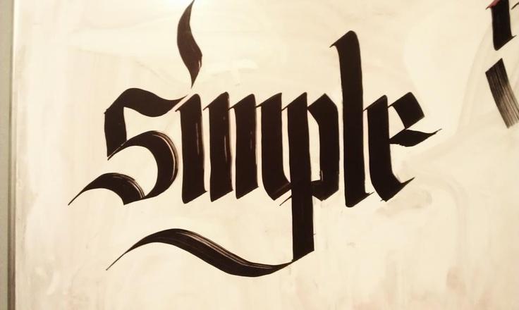 #calligraphy #dickiejones #type