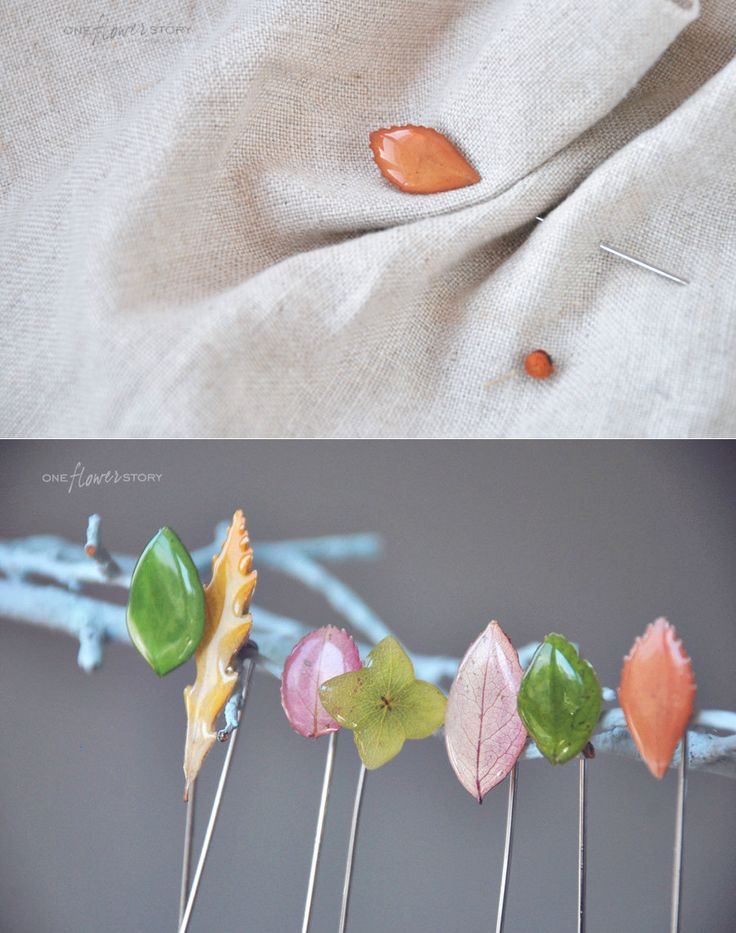 Real Leaf and Flower Jewelry from the... |