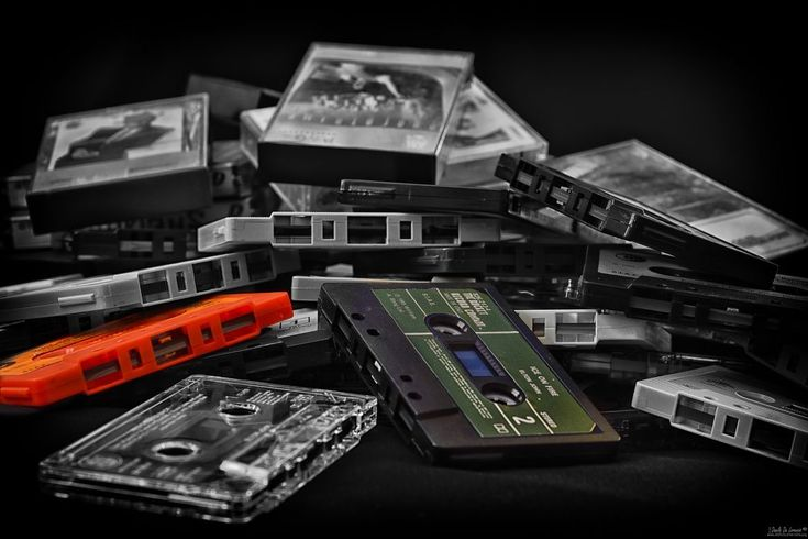 old music tapes by dlddanilo