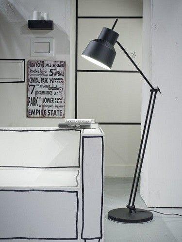Vloerlamp Belfast Zwart - It's about RoMi