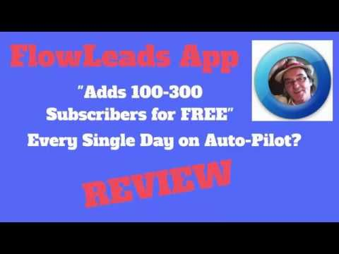 FlowLeads App Review   Get Flow Leads App for 100s of FREE Leads Daily  https://youtu.be/gSjEk-mqgXY