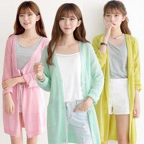 Gmarket - [Ami] A.M.I Loose fit cardigan / solid color / open ...