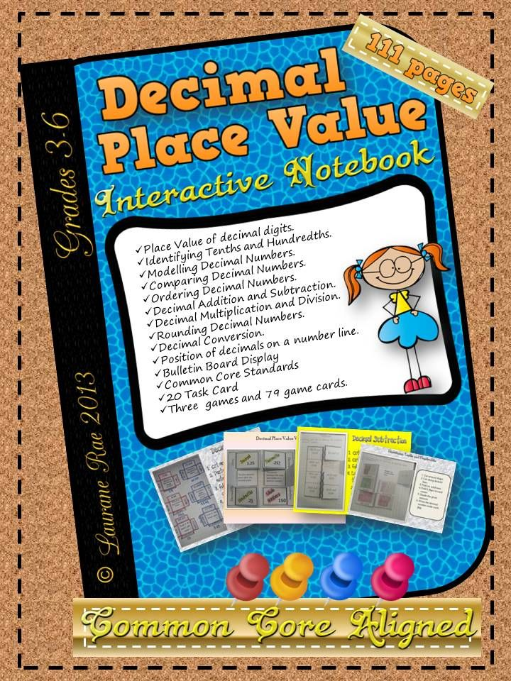 This unit has everything you would like to teach on working with Decimal Numbers. I am a great advocate of using interactive notebooks in math class, although I have realized, as with any method, if repeatedly adopted, it is vulnerable to the subtle process of ever encroaching habituation. Hence the unit has a perfect blend of interactive notebook activities, task cards and interesting games. Also included is an end of unit 3-page test to assess taught content.