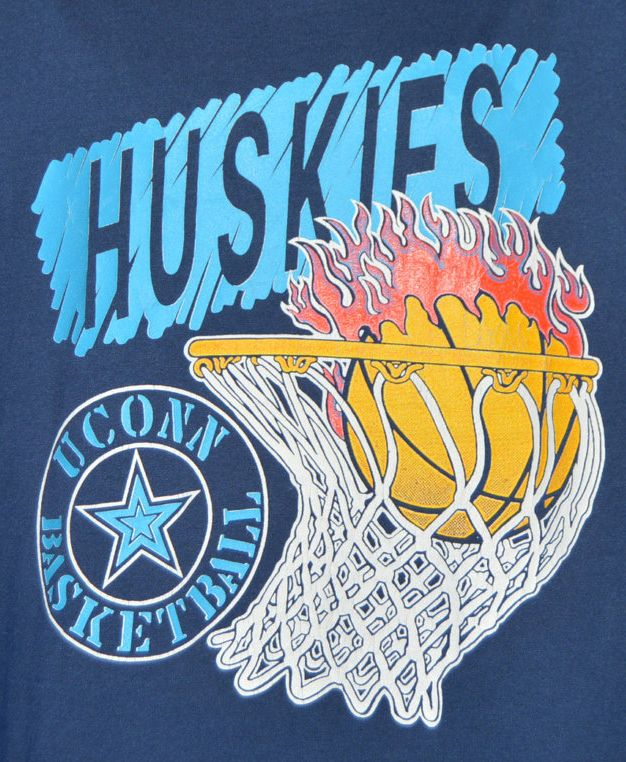 UCONN Basketball Huskies 1990s