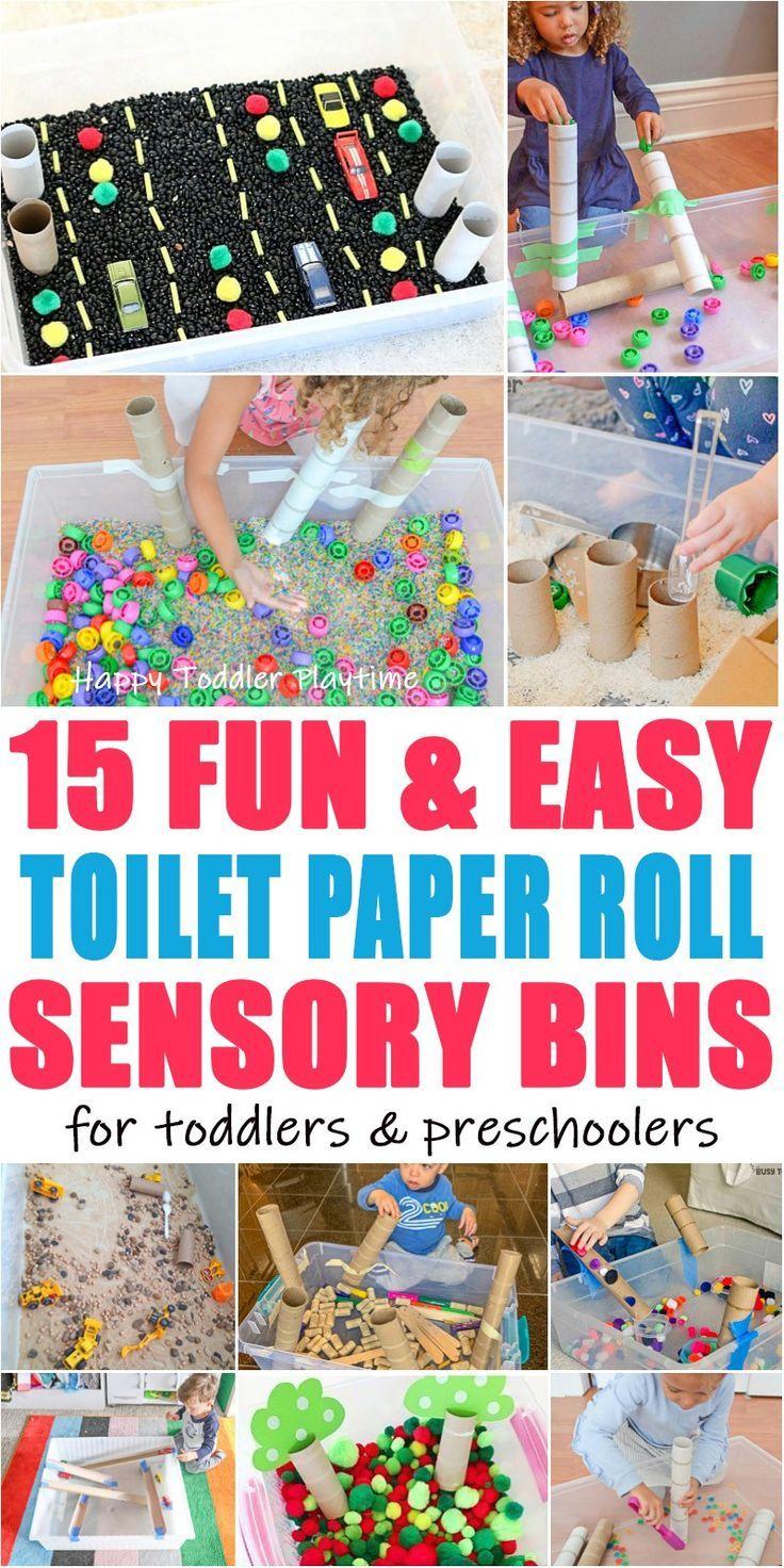 65+ Easy Toilet Paper Roll Activities