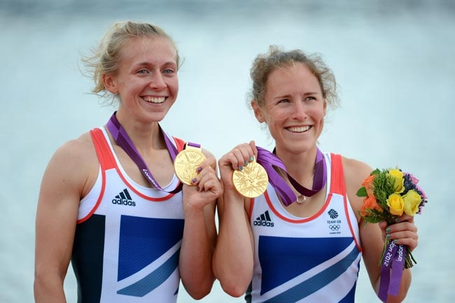 GOLD: Katherine Copeland and Sophie Hosking, Women's Double Sculls Final
