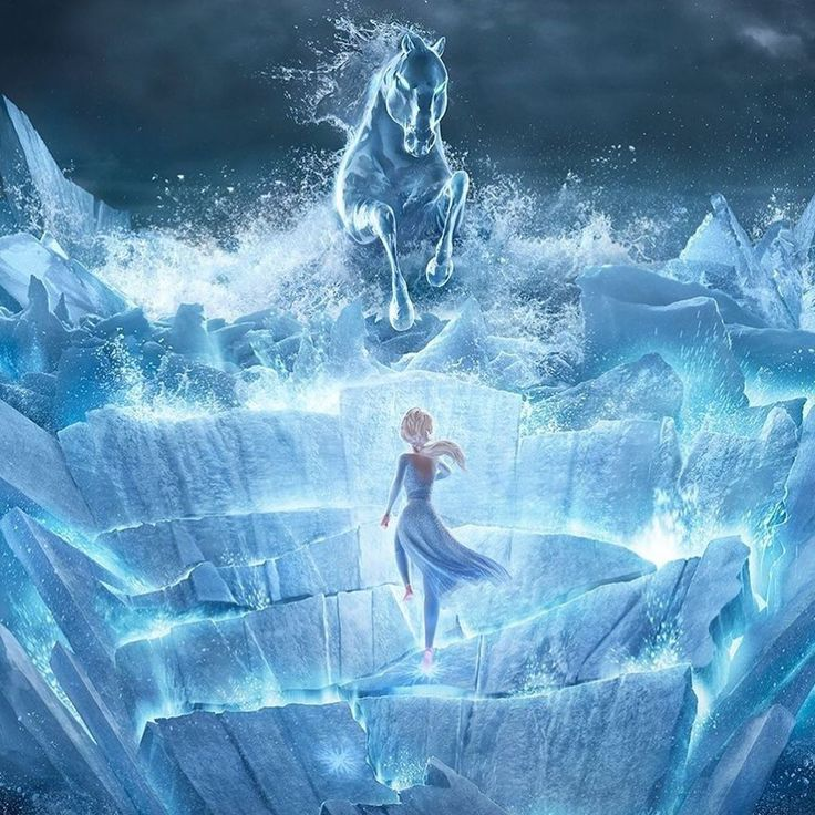 Absolutely stunning frozen 2 posters to promote the imax