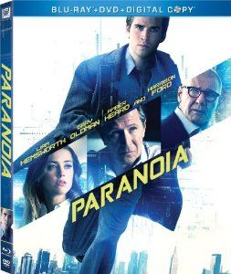 Paranoia Bluray worth $40 each. Click to enter: http://film-book.com/contest-paranoia-2013-blu-ray-liam-hemsworth-is-a-double-agent/ Ends 12/27/13. #sweepstakes #giveaway #contest #Paranoia #bluray #geek #film