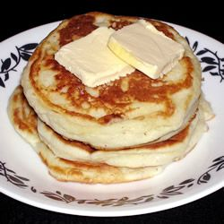 i really dont understand why ppl buy boxed pancake mix lol here ya go guys stop spending money on that boxed crap