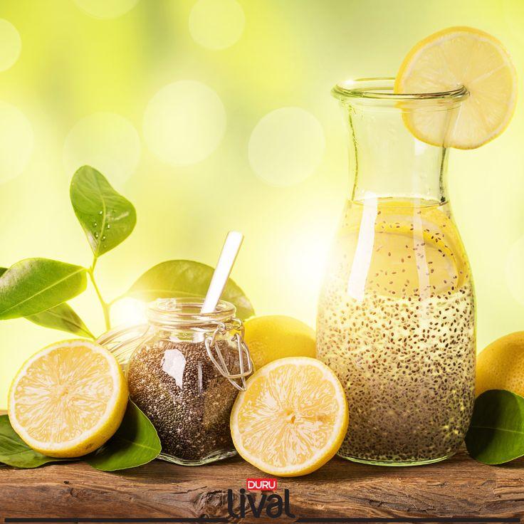 Taze Chia İçeceği ile sağlıklı, enerjik, güçlü ve zinde hissedeceksiniz. Bu özel tarif için sitemizi ziyaret edin!