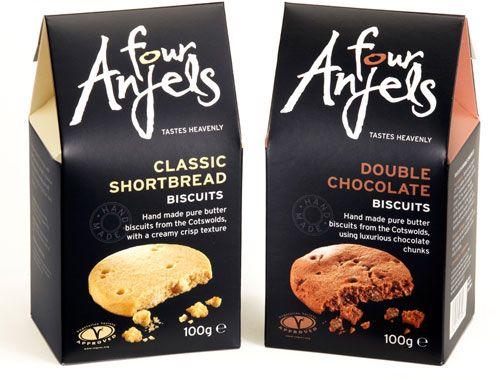four anjels biscuits design hills design food packaging design anjels