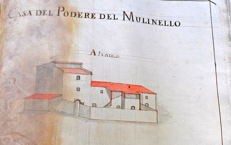 Il Molinello in 1700