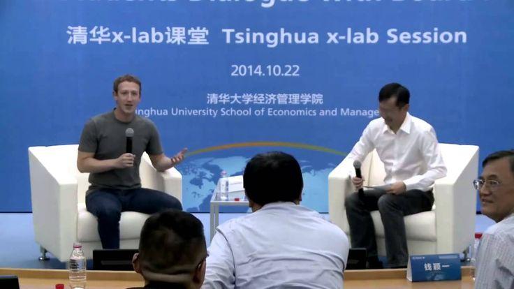 Mark Zuckerberg makes a public speak in Mandrin in China