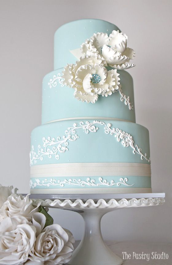 Wedding cake idea; Featured Cake: The Pastry Studio