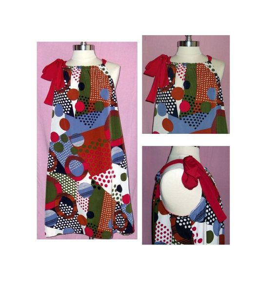 CLEARANCE SALE  Women's Handmade Pillowcase Style Dress