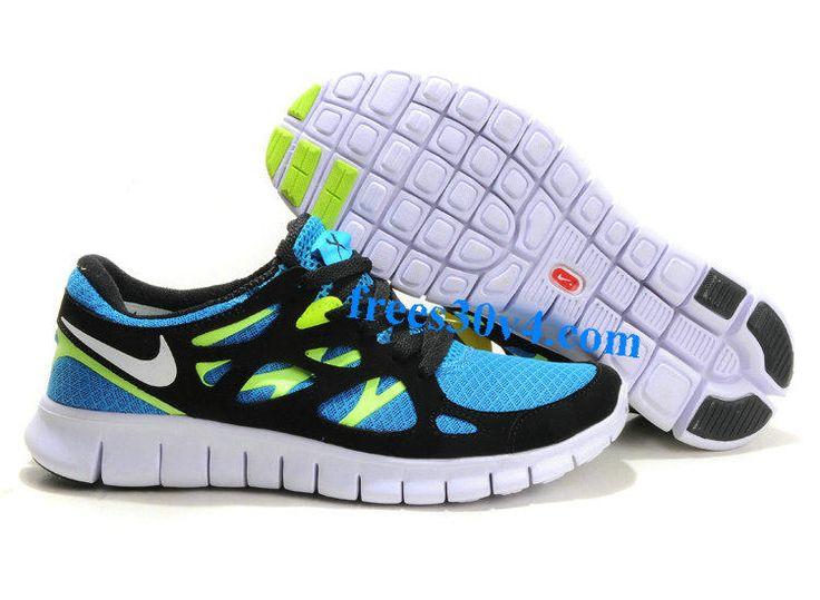 Herren Free Run 2 S, Chaussures de Running Homme, Gris (Cool Grey/White-Wolf Grey-Blue), 12 UKNike